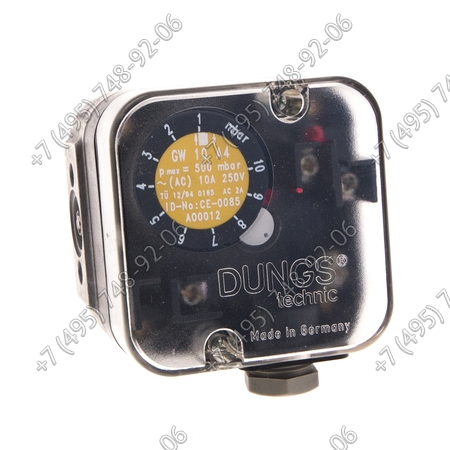 Реле давления DUNGS арт. 3006593 для горелок Riello